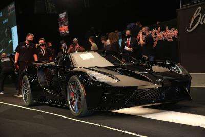 Barrett-Jackson Returns to Live Auctions, Proves Resiliency of Collector Car Market During 2020 Fall Auction