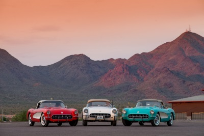 ECLECTIC DOCKET OF CHEVROLET CORVETTES SLATED TO CROSS THE BLOCK DURING 45TH ANNIVERSARY AUCTION IN SCOTTSDALE