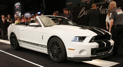 Sold for $500,000: 2014 Ford Shelby GT500 Convertible Delivers for Brain Injury Association of America at Hot August Nights