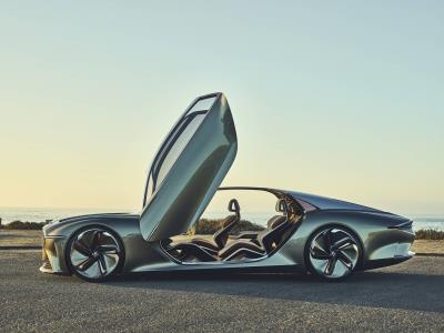 Bentley Exp 100 GT Crowned 'Most Beautiful Concept Car Of The Year'-Prestigious French Festival Automobile International