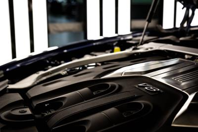 The driving force behind the Flying Spur V8: Engine facts and figures