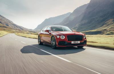 Flying Spur Ready To Soar With V8 Power