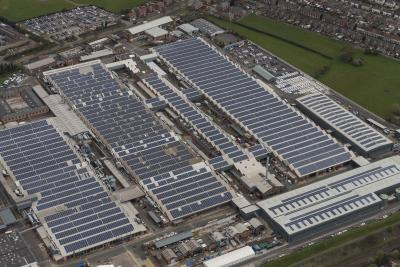 Bentley Motors To Build The UK's Largest Ever Solar-Powered Car Port