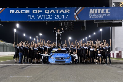 Thed Björk And Polestar Cyan Racing Crowned World Champions