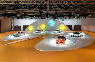 BMW celebrates 40 years of BMW Art Cars. 'Rolling sculptures' take to the stage around the world in 2015.