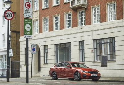 BMW Launches Its World-First eDrive Zones Technology In The UK