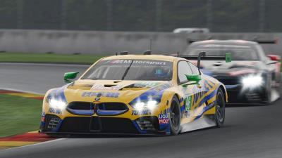 IMSA iRacing Pro Series: Bruno Spengler And Philipp Eng Reach The Podium In The BMW M8 GTE