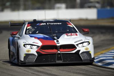 BMW M8 GTE Hits The Streets Of Long Beach