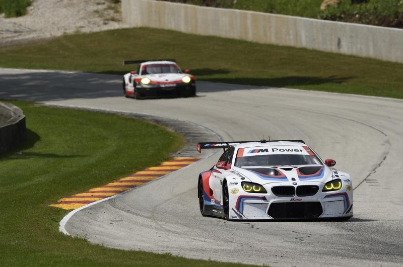 BMW Team RLL Finish 6Th And 8Th After A Tough Day At Road America