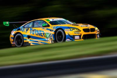 BMW Team RLL Off The Pace At Virginia International Raceway, Finishing Seventh And Eighth