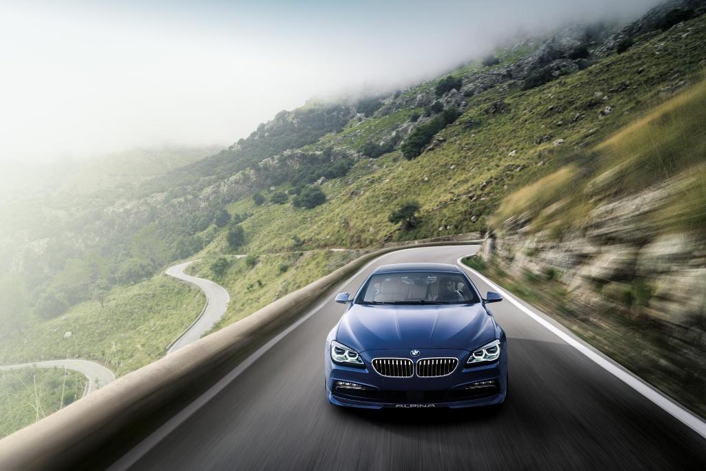 BMW ALPINA B6 xDRIVE GRAN COUPE TO MAKE NORTH AMERICAN DEBUT AT NEW YORK INTERNATIONAL AUTO SHOW