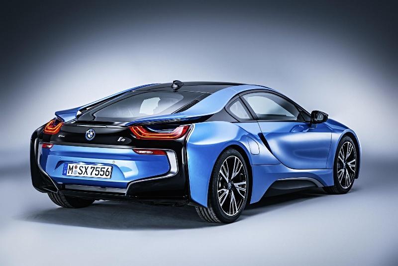 BMW at the Mondial de l' Automobile Paris 2014.
