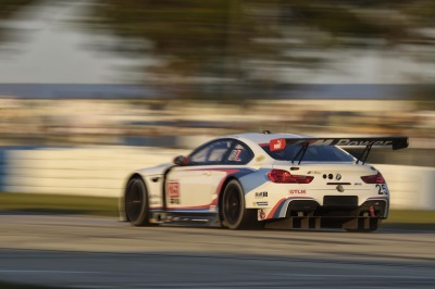 Sixth Place For The No. 25 BMW M6 GTLM In The 65Th Running Of The Twelve Hours Of Sebring