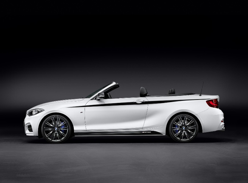 BMW M Performance Parts for the BMW 2 Series Convertible.