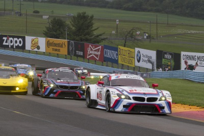 BMW TEAM RLL SURVIVES TO FINISH THIRD IN SAHLEN'S SIX HOURS OF THE GLEN