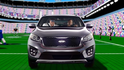 BO JACKSON AND BRIAN BOSWORTH GO HEAD-TO-HEAD ON THE 8-BIT GRIDIRON IN TECMO BOWL-INSPIRED CAMPAIGN FOR THE SORENTO SUV