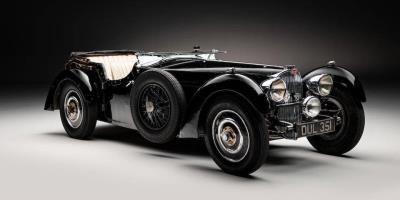 Sleeping Beauty Bugatti Sells for £4 Million at Bonhams Legends of the Road Sale