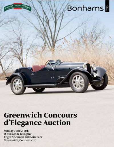 Impressive line-up of automobiles to be auctioned at Greenwich