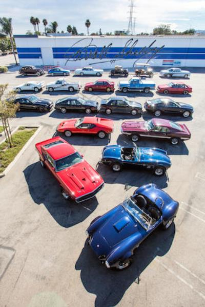 Bonhams To Auction Personal Car Collection Of Carroll Shelby
