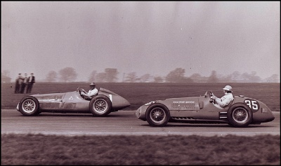 1951 British Grand Prix: Tapped for a Special Moment in History