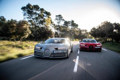 Bugatti To Test Chiron And Chiron Sport On The Paul Ricard Circuit