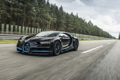 0-400-0 km/h In 42 Seconds: Bugatti Chiron Sets World Record