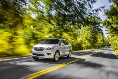2017 BUICK ENVISION AWD EARNS 5-STAR OVERALL VEHICLE SCORE FOR SAFETY RATING BY NHTSA