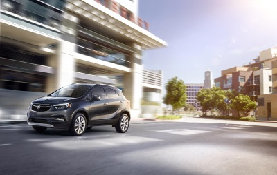 2017 BUICK ENCORE GETS LATEST TECH, SCULPTED DESIGN