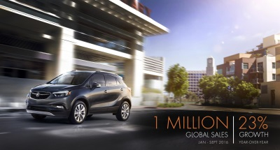 2016 BUICK GLOBAL SALES PASS 1 MILLION AT RECORD PACE