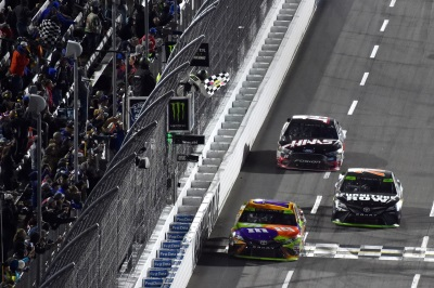 Busch Advances To Championship Event With Win At Martinsville