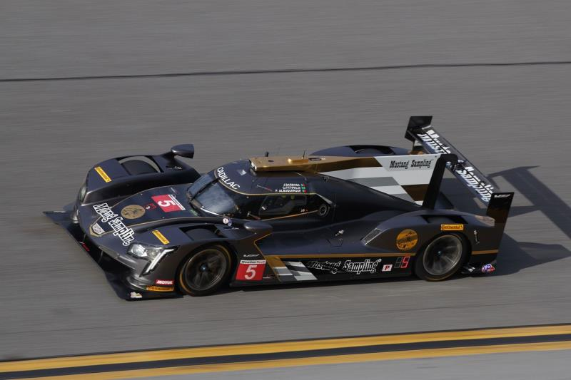 Cadillac DPI-V.R Teams Top Time Chart In Preparation For Rolex 24