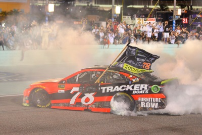 Camry Driver Martin Truex Jr. Wins NASCAR Cup Series Driver's Championship