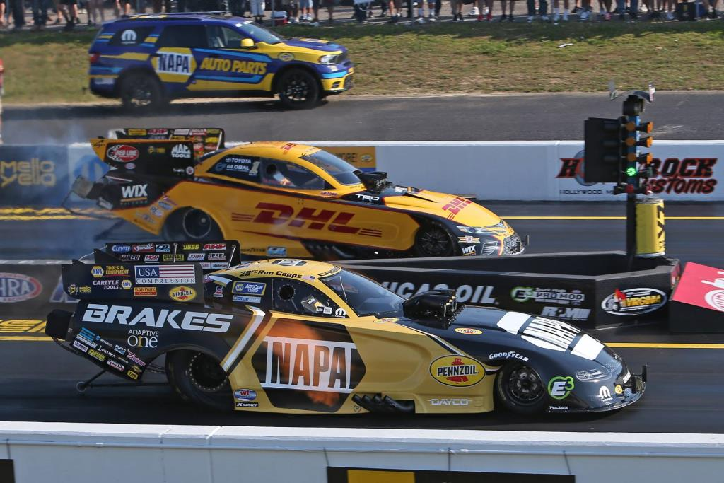 Capps Races Dodge//SRT Mopar Funny Car To Back-To-Back Wins With