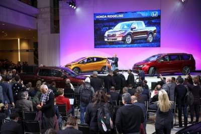 Chevrolet Bolt, Honda Ridgeline, Chrysler Pacifica Named 2017 North American Car, Truck and Utility Vehicle of the Year