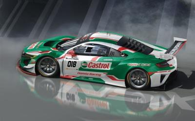 Castrol Honda Racing Announce Guerrieri & Baguette For 24 Hours Of Spa