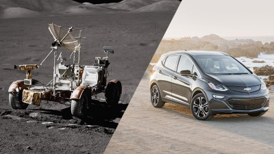 Chevrolet Brings All-Electric Vehicle Technology From The Moon To Earth