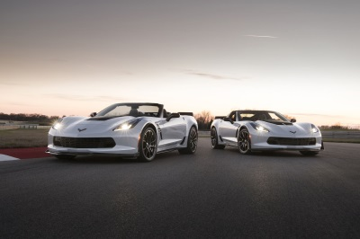 Chevrolet Offers Corvette Carbon 65 For Auction At Barrett-Jackson To Benefit Bush Center Military Service Initiative