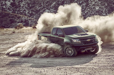 Chevrolet Announces 2017 Colorado ZR2 Pricing Starting At $40,995