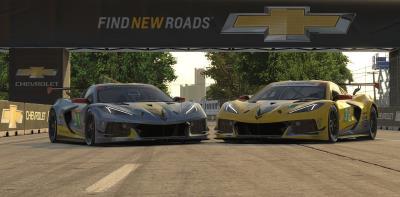 Chevrolet Corvette C8.R Debuts On iRacing