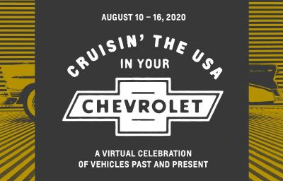 Chevrolet To Host Week-Long Virtual Fan Experience Celebrating Past, Present Vehicles