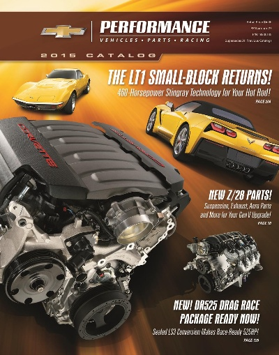 2015 Chevrolet Performance Catalog Packed with New Parts