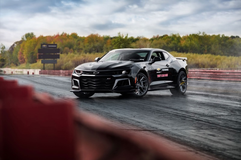 Chevrolet Performance Drag Development Program Adds Camaro ZL1