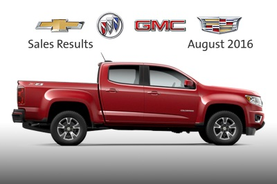 CHEVROLET RETAIL SHARE UP IN AUGUST AND 7 OUT OF 8 MONTHS THIS YEAR