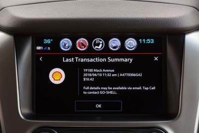 Chevy And Shell Deliver Fuel Payment From The Comfort Of The Driver's Seat