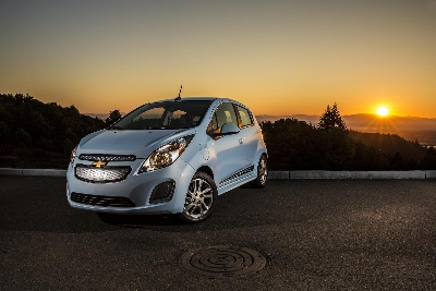 CHEVROLET SPARK EV PLUGS INTO MARYLAND