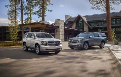 Chevrolet Introduces Tahoe And Suburban Premier Plus Special Editions
