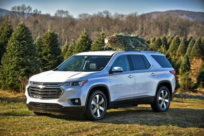 Chevrolet's Top Tips For Transporting Your Holiday Tree