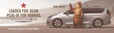 Chrysler Brand Launches California-Specific Multimedia Marketing Campaign For Chrysler Pacifica Plug-In Hybrid Minivan