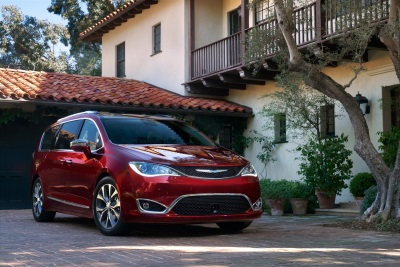 ALL-NEW CHRYSLER PACIFICA ONLY MINIVAN NAMED IIHS TOP SAFETY PICK+ FOR 2017