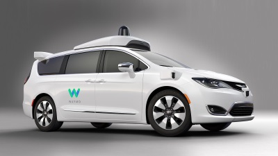 FCA DELIVERS 100 UNIQUELY BUILT CHRYSLER PACIFICA HYBRID MINIVANS TO WAYMO FOR SELF-DRIVING TEST FLEET